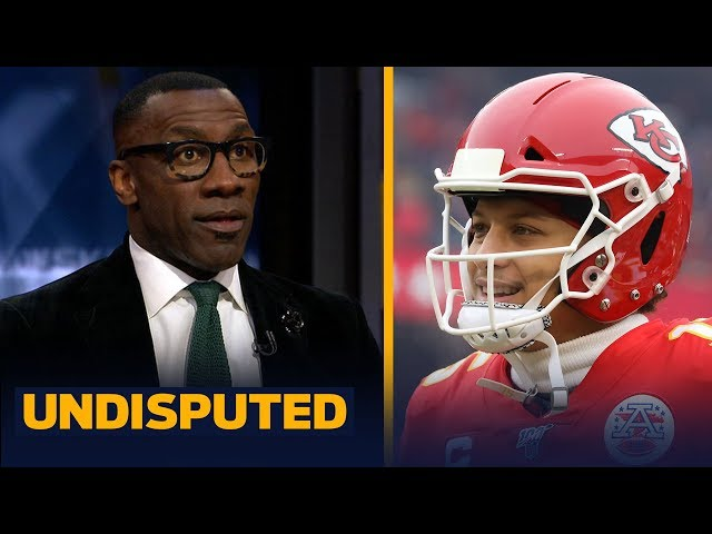 Shannon Sharpe reacts to Patrick Mahomes, Chiefs' comeback win over Texans NFL UNDISPUTED HQ quality image