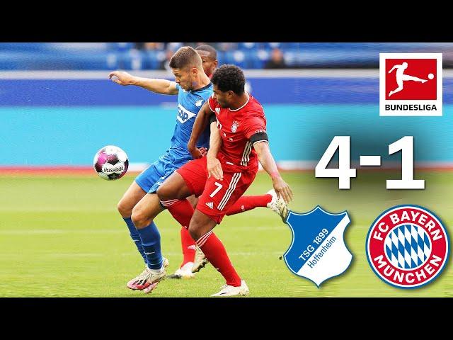 Hoffenheim & Kramaric shine vs Bayern TSG Hoffenheim - FC Bayern Mnchen 4-1 Highlights MD 2 HQ quality image