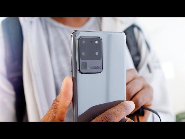 Samsung Galaxy S20 Ultra Impressions: 108 Megapixels! HQ quality image