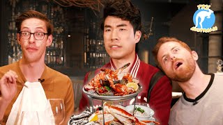 The Try Guys Eat $1,200 Of Gourmet Seafood Try Australia MD quality image