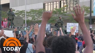 Nationwide Protests Intensify Over Death Of George Floyd | TODAY Screenshot