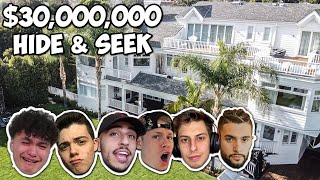 Hide And Seek In A $30,000,000 Mansion - FaZe House Screenshot