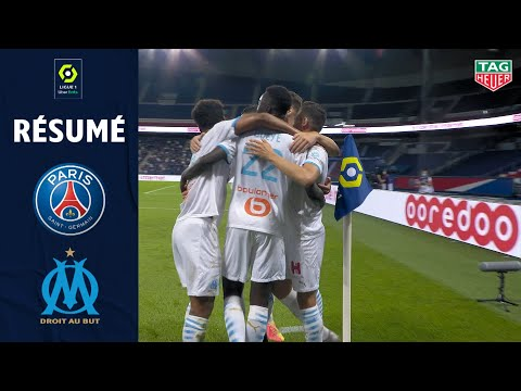 PARIS SAINT-GERMAIN - OLYMPIQUE DE MARSEILLE(0 - 1 ) - Rsum - (PARIS SG - OM) / 2020/2021 MQ quality image