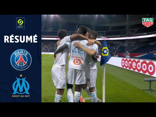 PARIS SAINT-GERMAIN - OLYMPIQUE DE MARSEILLE(0 - 1 ) - Rsum - (PARIS SG - OM) / 2020/2021 HQ quality image