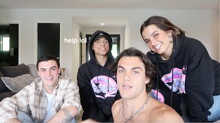 TURNING THE DOLAN TWINS INTO TIKTOKERS FT. Addison Rae MD quality image
