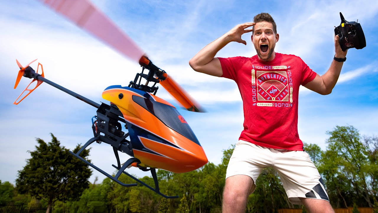 RC Helicopter Battle Dude Perfect HD quality image
