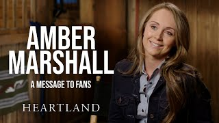 Amber Marshall's Message to Fans *SPOILERS* Heartland MD quality image