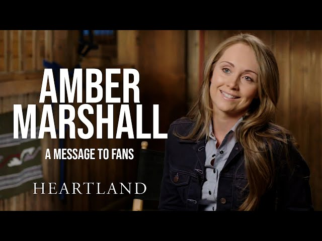 Amber Marshall's Message to Fans *SPOILERS* Heartland HQ quality image