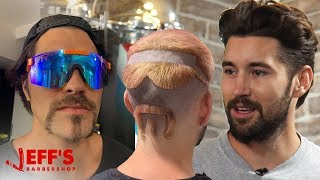 GIVING VLOG SQUAD HAIRCUTS THEY DIDN'T ASK FOR   Jeff's Barbershop Screenshot