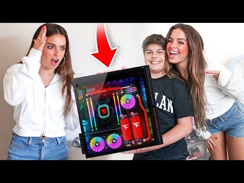 SURPRISING ADDISON RAE WITH $10,000 GIFT!! MQ quality image