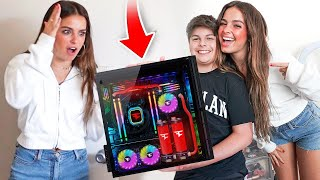SURPRISING ADDISON RAE WITH $10,000 GIFT!! MD quality image