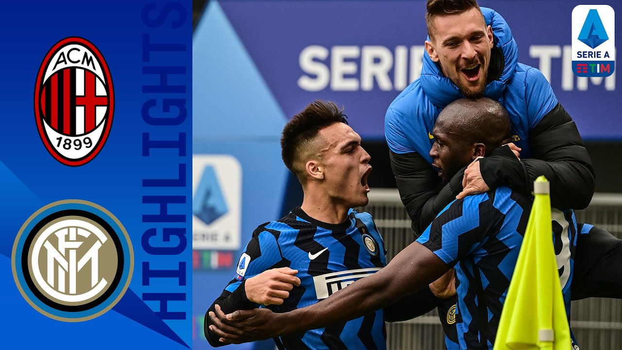 Milan 0-3 Inter Inter Go Four Points Clear with HUGE Derby Win! Serie A TIM HD quality image