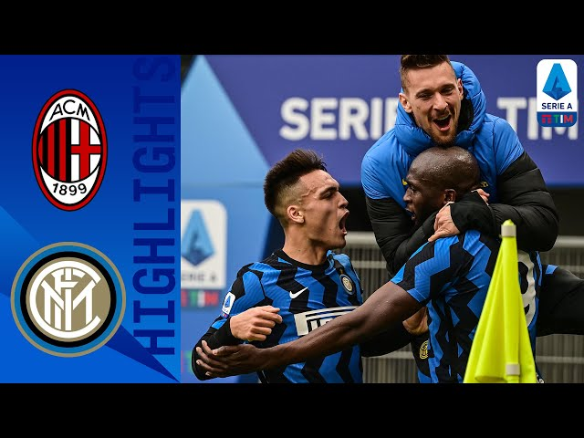Milan 0-3 Inter Inter Go Four Points Clear with HUGE Derby Win! Serie A TIM HQ quality image