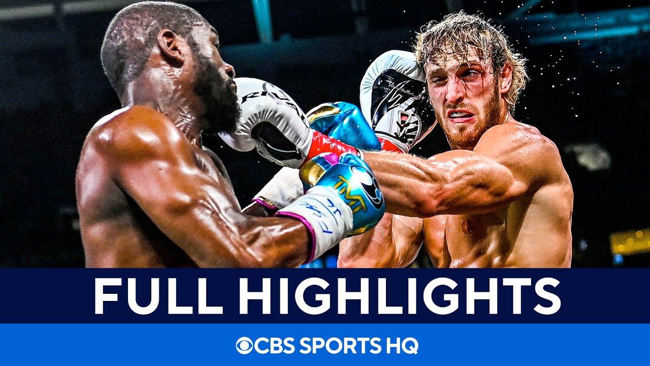 Floyd Mayweather vs Logan Paul: Fight goes the distance [Highlights, recap] CBS Sports HQ HD quality image