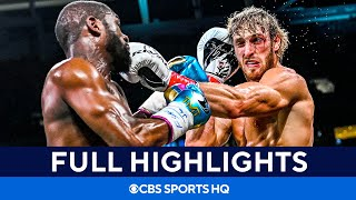 Floyd Mayweather vs Logan Paul: Fight goes the distance [Highlights, recap] CBS Sports HQ MD quality image