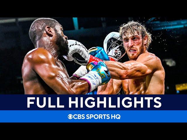 Floyd Mayweather vs Logan Paul: Fight goes the distance [Highlights, recap] CBS Sports HQ HQ quality image