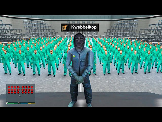 Becoming SQUID GAME Host in GTA 5! (GTA 5 Mods) HQ quality image
