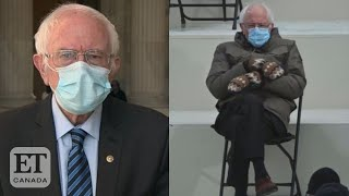 Bernie Sanders Explains His Inauguration Outfit MD quality image