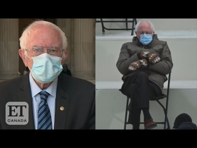 Bernie Sanders Explains His Inauguration Outfit HQ quality image