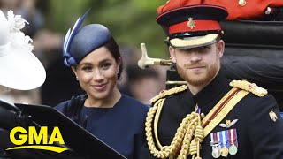 Pressure increases for Harry, Meghan to delay Oprah Winfrey interview l GMA Screenshot
