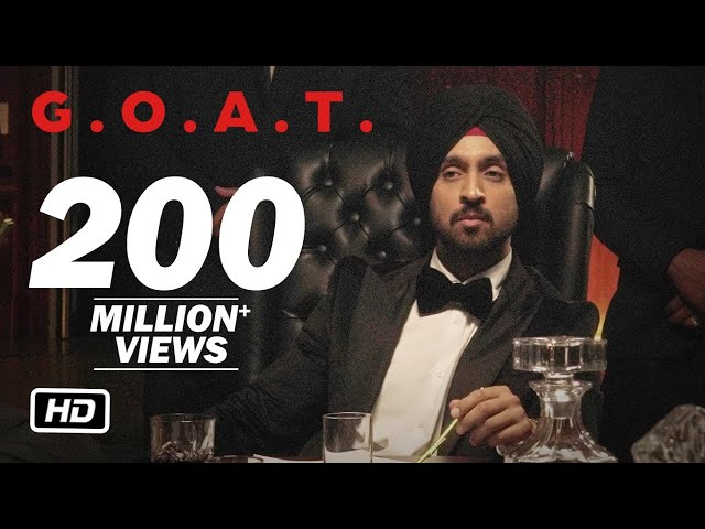 Diljit Dosanjh - G.O.A.T. (Official Music Video) HQ quality image