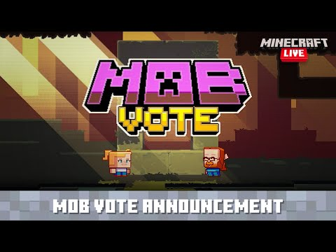 Minecraft Live: Introducing New Mobs! MQ quality image
