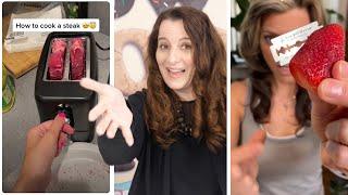 Debunking viral TIK TOK videos | How To Cook That Ann Reardon Screenshot