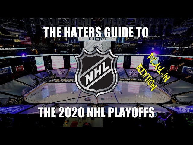 The Haters Guide to the 2020 NHL Playoffs: Play-In Edition HQ quality image