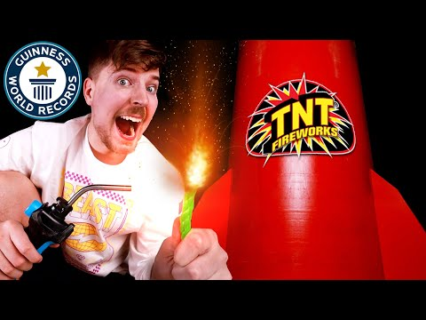 I Bought The World's Largest Firework ($600,000) MQ quality image