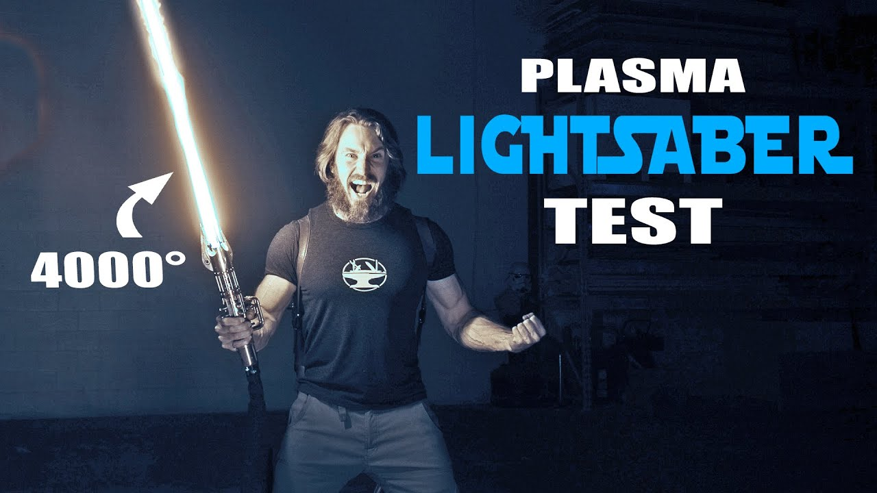4000 LIGHTSABER TEST (CUTS ANYTHING!) HD quality image