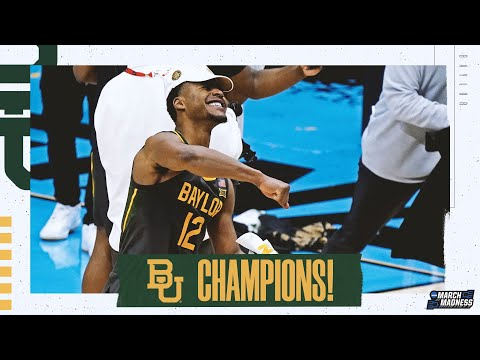 Baylor wins the 2021 NCAA basketball championship extended highlights MQ quality image