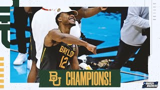 Baylor wins the 2021 NCAA basketball championship extended highlights MD quality image