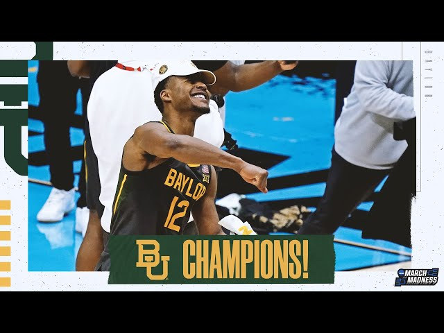 Baylor wins the 2021 NCAA basketball championship extended highlights HQ quality image