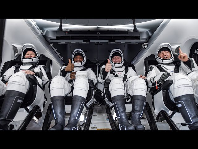 Crew-1 Mission Return HQ quality image