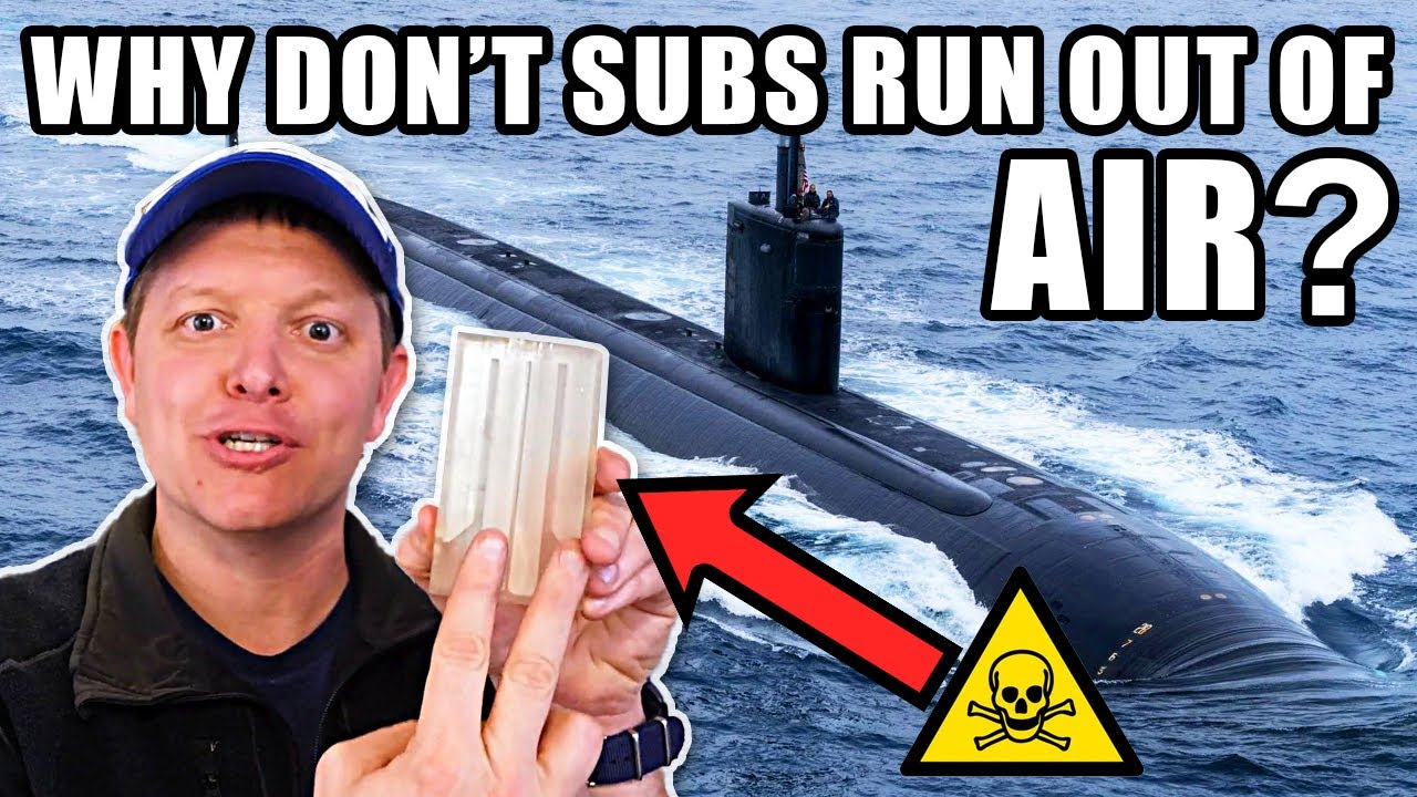 How Do Nuclear Submarines Make Oxygen?- Smarter Every Day 251 HD quality image