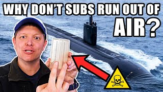 How Do Nuclear Submarines Make Oxygen?- Smarter Every Day 251 MD quality image
