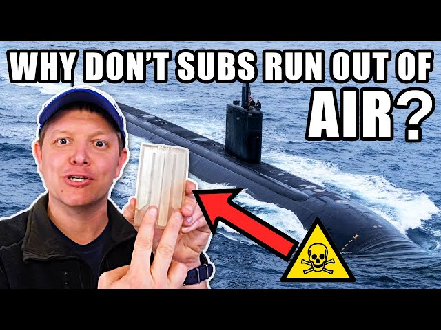 How Do Nuclear Submarines Make Oxygen?- Smarter Every Day 251 HQ quality image