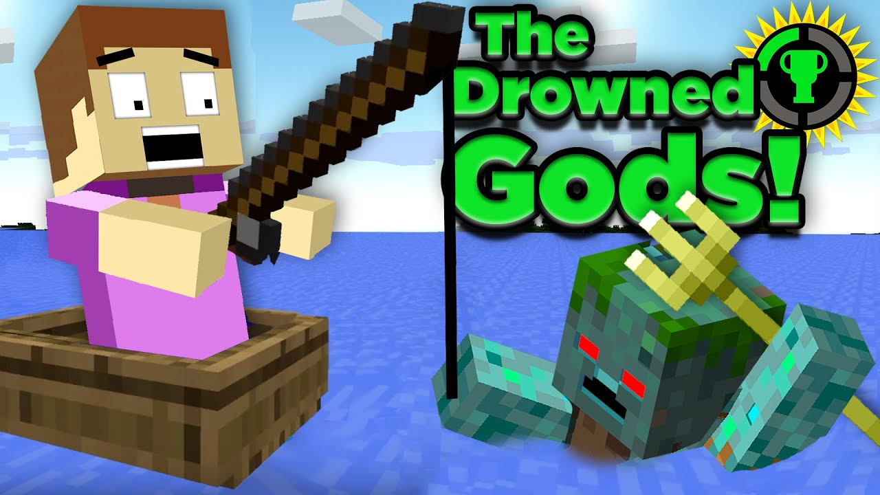 Game Theory: The Murky History of Minecraft's Underwater Gods HD quality image
