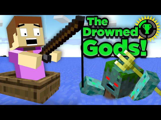 Game Theory: The Murky History of Minecraft's Underwater Gods HQ quality image