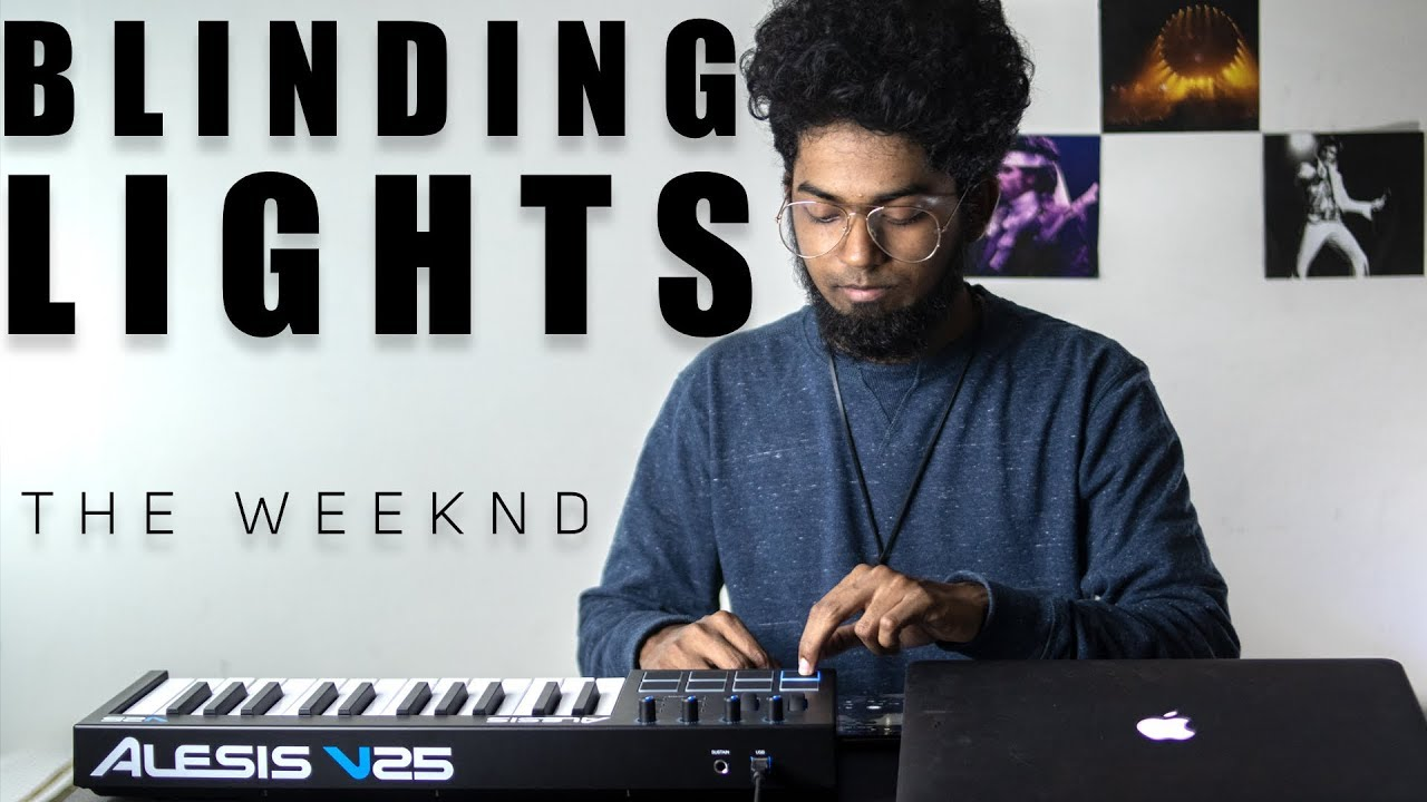 The Weeknd - Blinding Lights Cover By Ashwin Bhaskar HD quality image