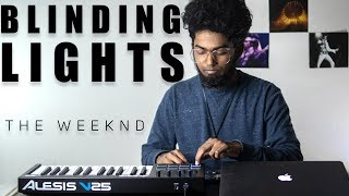 The Weeknd - Blinding Lights Cover By Ashwin Bhaskar MD quality image