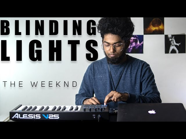 The Weeknd - Blinding Lights Cover By Ashwin Bhaskar HQ quality image