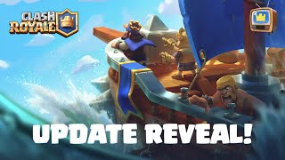 Clash Royale: CLAN WARS 2 UPDATE REVEAL! ⚔️ TV Royale Special Screenshot