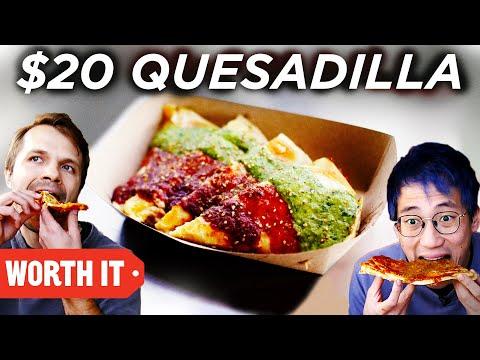 $4 Quesadilla Vs. $20 Quesadilla MQ quality image