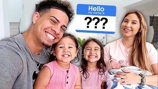 BABY NAME REVEAL!!! **IS THE ACE FAMILY NAME CHANGING?** Screenshot
