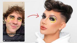 My Friends Draw My Makeup Looks! Screenshot