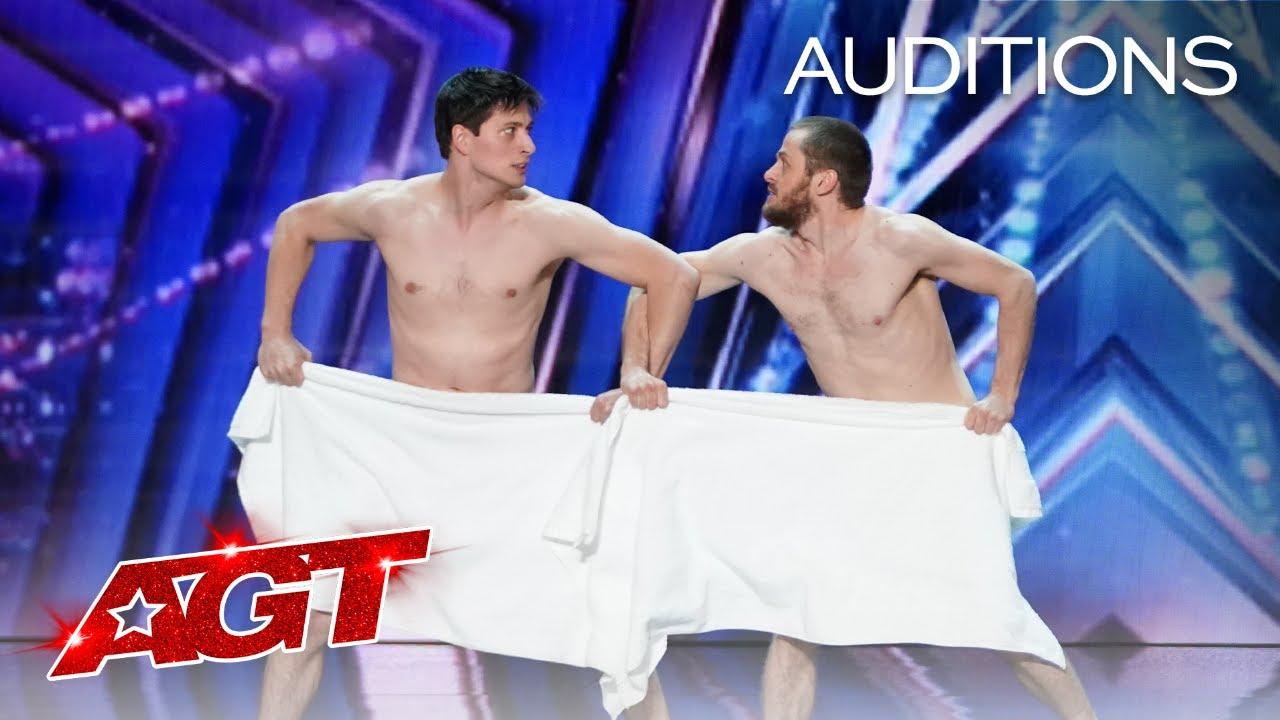 Les Beaux Frres SHOCKS The Judges - America's Got Talent 2021 HD quality image