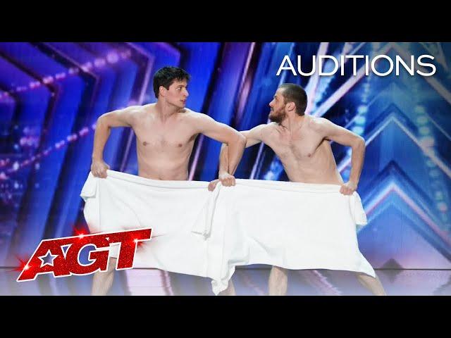 Les Beaux Frres SHOCKS The Judges - America's Got Talent 2021 HQ quality image