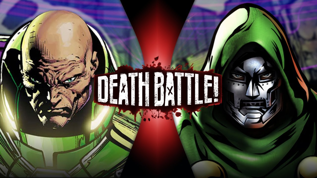 Lex Luthor VS Doctor Doom (DC vs Marvel) DEATH BATTLE! HD quality image