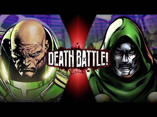 Lex Luthor VS Doctor Doom (DC vs Marvel) DEATH BATTLE! HQ quality image